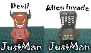 JustMan Paper Toys