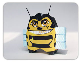 Bee Elvis Calendar Papercraft