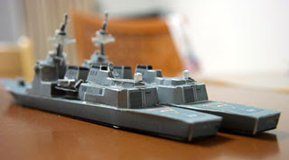 Atago Destroyer Ship Papercraft