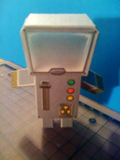 Spaceboy Paper Toy