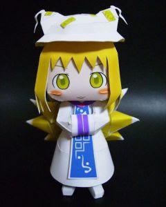 Ran Yakumo Papercraft