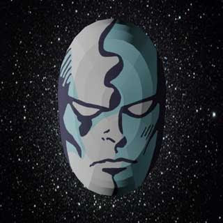 Silver Surfer Mask Papercraft