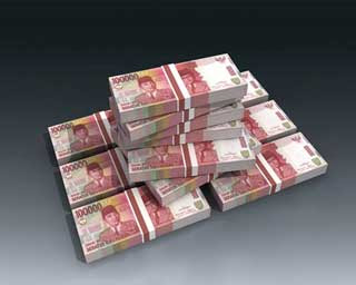 Indonesian Rupiah Banknote Papercraft
