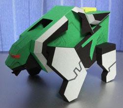 Kuma Origami Mecha Papercraft