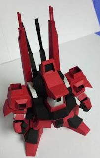 Schuzrum Dias Gundam Papercraft