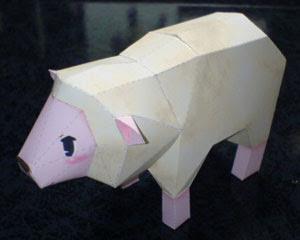 Sheep Papercraft
