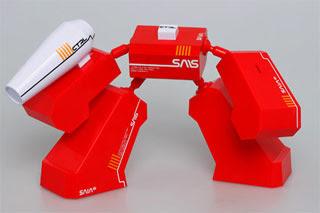 MOD1 Robot Papercraft