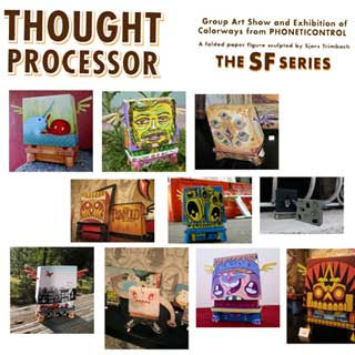 SF Thought Processor Paper Toy