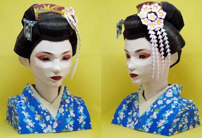 Maiko Papercraft