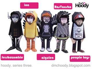 Hoody Paper Toys Series 3
