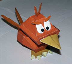 Fire Bwak Papercraft