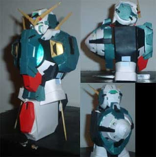 Gundam Dynames Papercraft