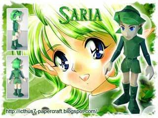 Saria Papercraft
