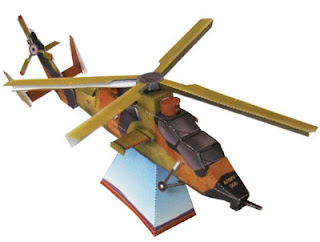 ARH Tiger Helicopter Papercraft