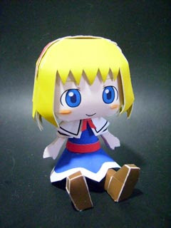 Alice Margatroid Papercraft