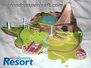 Wuhu Island Papercraft