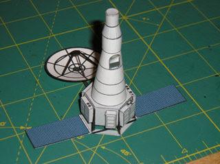 Ranger Lunar Impact Probe Papercraft