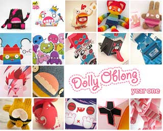 Dolly Oblong Paper Toy