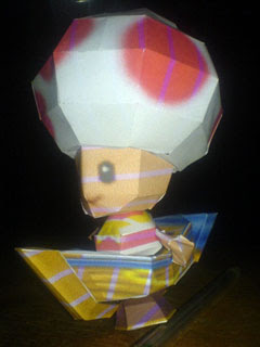 Pirate Toadstool Papercraft