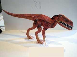 Velociraptor Papercraft