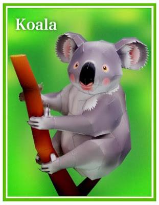 Koala Papercraft