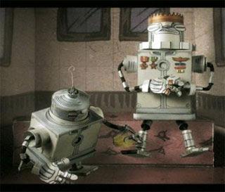 Robot Papercraft Video
