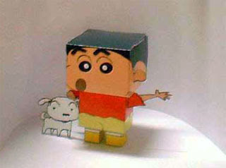 Crayon Shin-Chan Papercraft