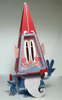 AstroGnome Paper Toy