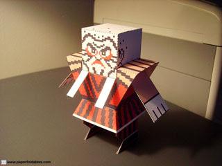 Stone Wizard Papercraft