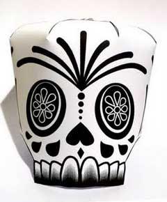 Halloween Skull Paper Toy