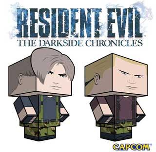 Resident Evil Papercraft Operation Javier
