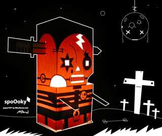 Spooky Halloween Papercraft