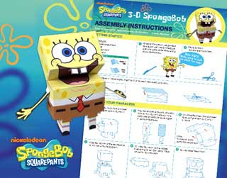 SpongeBob SquarePants Papercraft