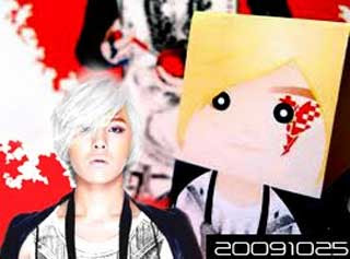 Bigbang G-Dragon Papercraft