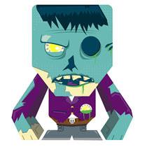 Zombie Papercraft