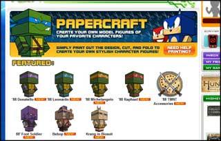 TMNT Papercraft