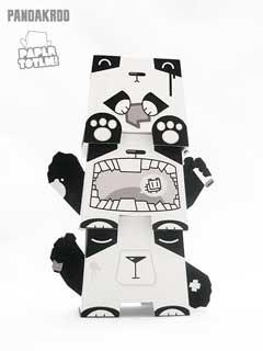 Paper Totem Pandacrew
