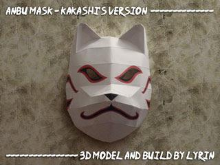 Kakashi Anbu Mask Papercraft