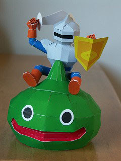 Slime Knight Papercraft