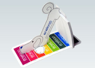 Eneloopy Desktop Calendar Papercraft 2010