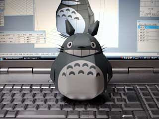 Totoro Papercraft