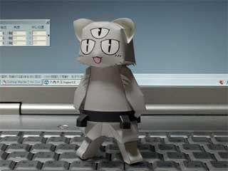 Gotoku Cat Papercraft