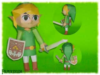 Toon Link Papercraft
