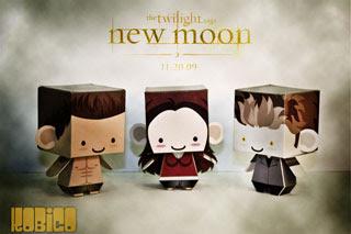 Twilight New Moon Papercrafts