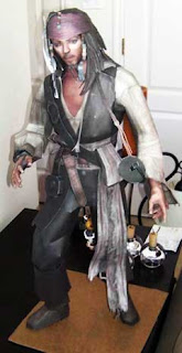 Captain Jack Sparrow Papercraft
