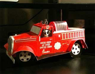 Chick-fil-A Fire Truck Papercraft