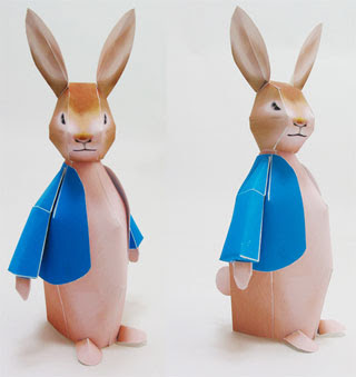 Peter Rabbit Papercraft