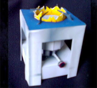 Kerosene Stove Papercraft