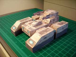 Thorium Wars Cerberus Tank Papercraft