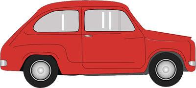 Fiat 600 Papercraft